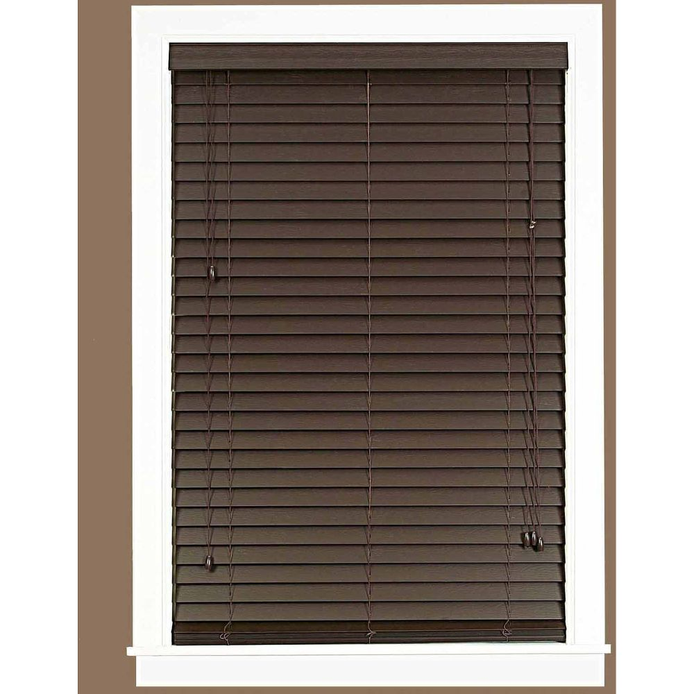 madera falsa 2 inch faux wood plantation blinds faux wood blinds walmart review