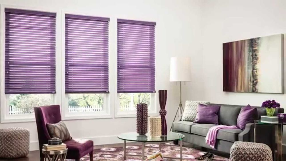 purple fabric horizontal bali blinds bali cellular shades product details