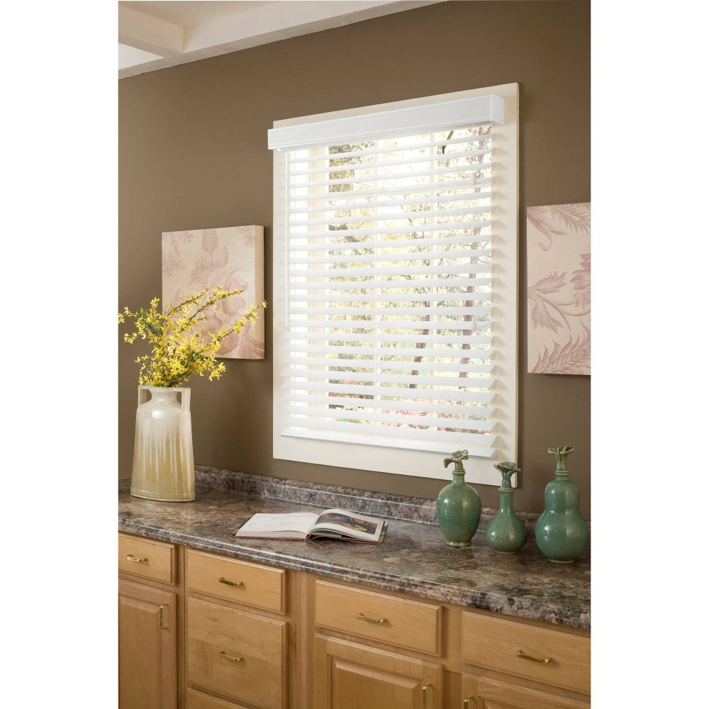 richfield studio 2 inch faux wood blinds faux wood blinds walmart review