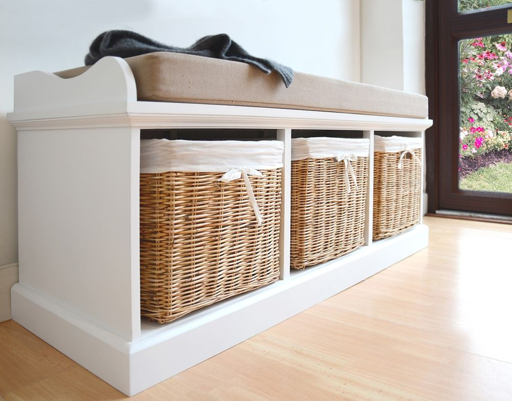 tetbury white coat hanger with 3 natural wicker baskets is white wicker bedroom furniture a good choice?