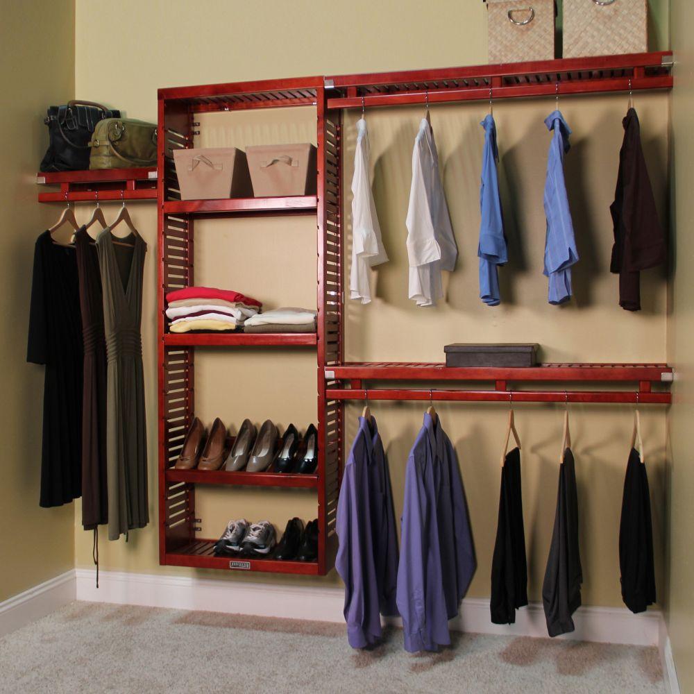 12 inch deep simplicity closet organizer set stand alone closet organizing tools and systems