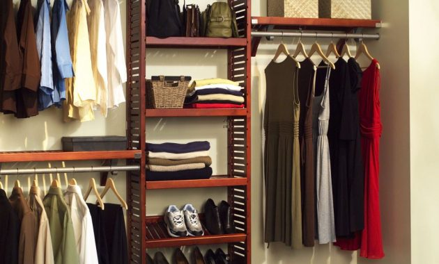Free Standing Wardrobe Closet for The Bedroom with Shoe Rack