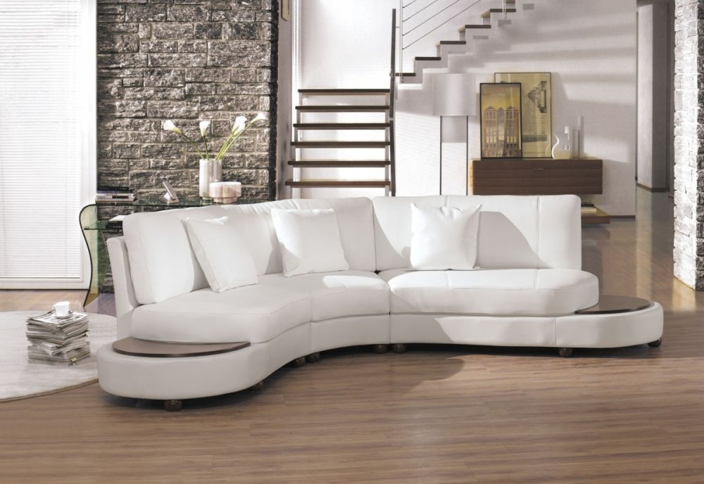futuristic small white sectional sofa for living room small scale sectionals for your living room