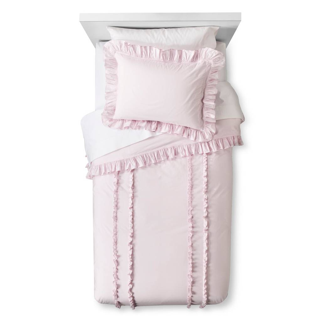 ruffle duvet sham set pink simply shabby chic shabby chic bedding target for beautiful bedding sets