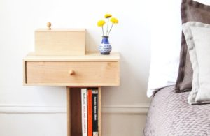 small wooden bedside table with storage how to choose a wall mounted bedside table