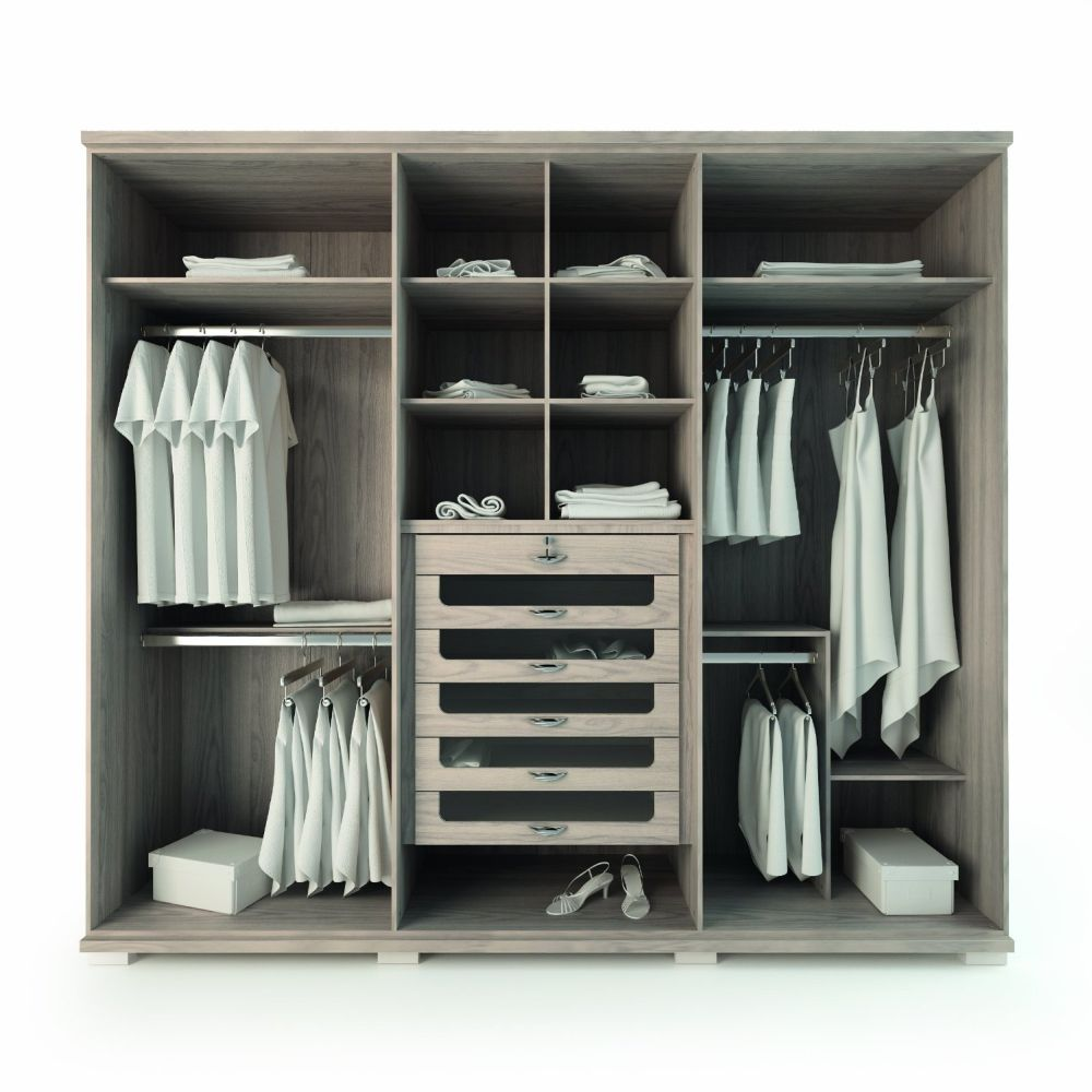 Stand Alone Wardrobe Designs : Stand alone closet organizers withtowering doors