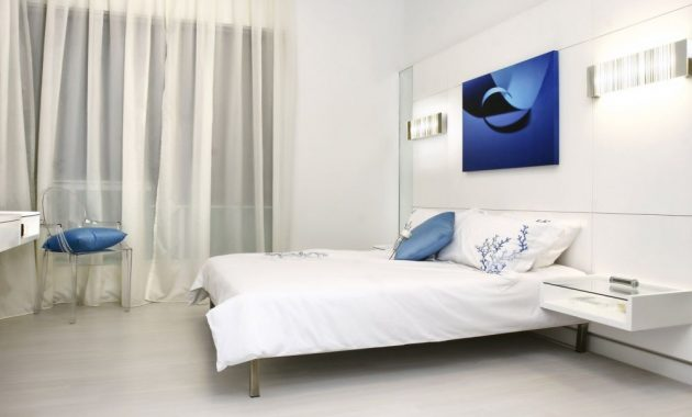 Transparent Bedside Talbe Ideas