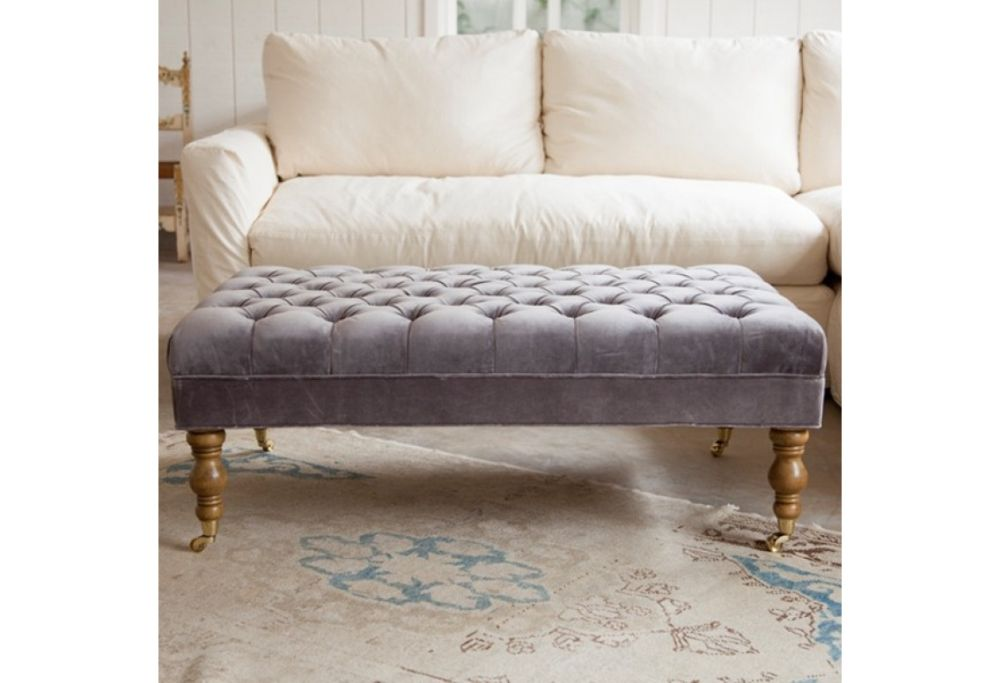 liliput tufted ottoman simply shabby chic furniture for your interior design