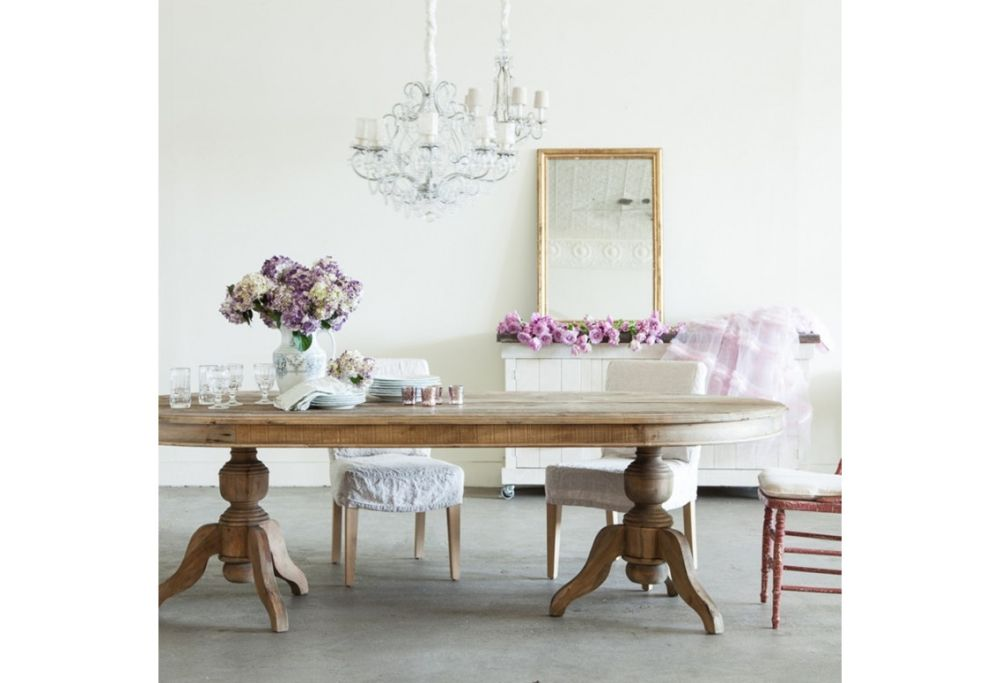 pavilion oval dining table simply shabby chic furniture for your interior design