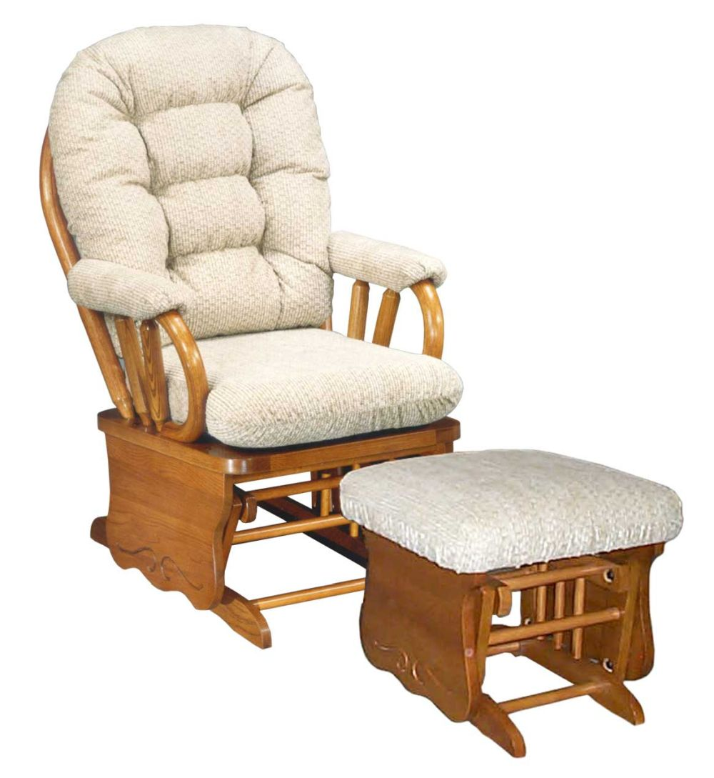 rustic-glider-rocking-chairs-types-of-replacement-glider-cushions