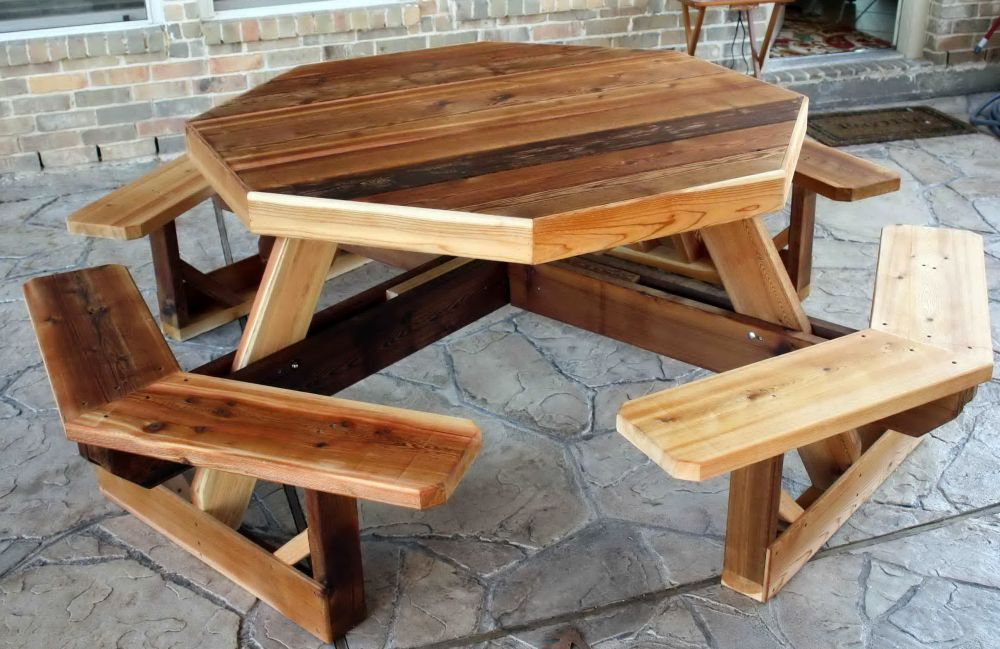 Folding Picnic Table Plans For Best Outdoor Meals Homes