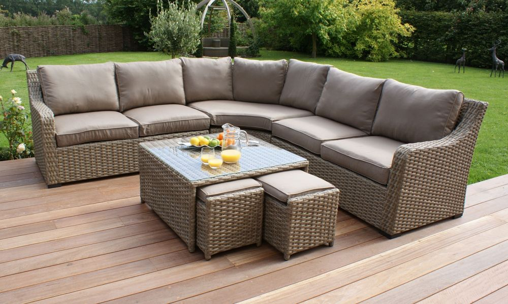 corner sofa natural rattan garden furniture set the excellent guide for buyers to buy rattan garden furniture