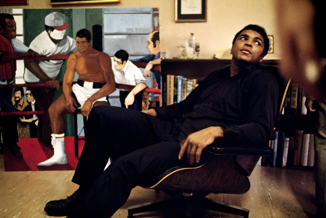 Muhammad Ali and his Eames chair the classic design stories of the eames lounge chair and ottoman
