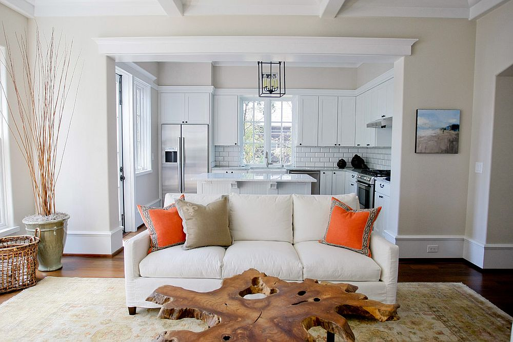 cool live edge coffee table for white living room 30 inspirations of living room transformation with live-edge coffee tables