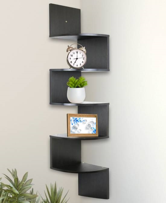 trendy black wall floating design 2017 trends: 11 fashionable wall floating shelves for your homes