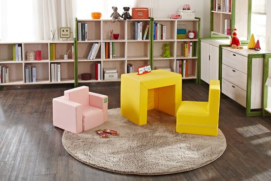 2-in-1 convertible sofa for kids room 33 genius ideas to transform furniture for kids