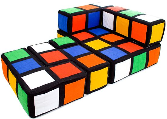 Rubiks cube sofa transformed to bed 33 genius ideas to transform furniture for kids