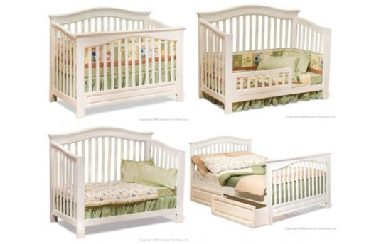 convertible crib to tuddler or full bed design 33 genius ideas to transform furniture for kids