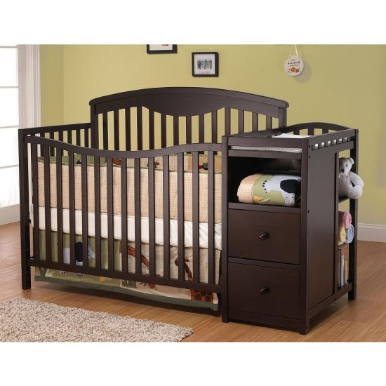 convertible crib with changing table design 33 genius ideas to transform furniture for kids
