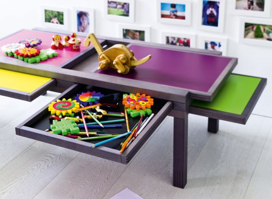 convertible table design for kids room Hexa 33 genius ideas to transform furniture for kids