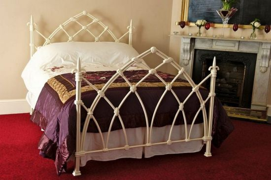 medieval bed frame in metal white 35 wonderful medieval furniture inspirations for your lovely bedroom